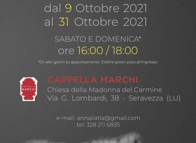 Memento Mori. Opere di Annalisa Atlante dal 9 al 31 ottobre 2021 a Cappella Marchi di Seravezza