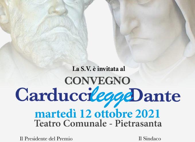 Carducci legge Dante, giornata convegno al Teatro Comunale di Pietrasanta