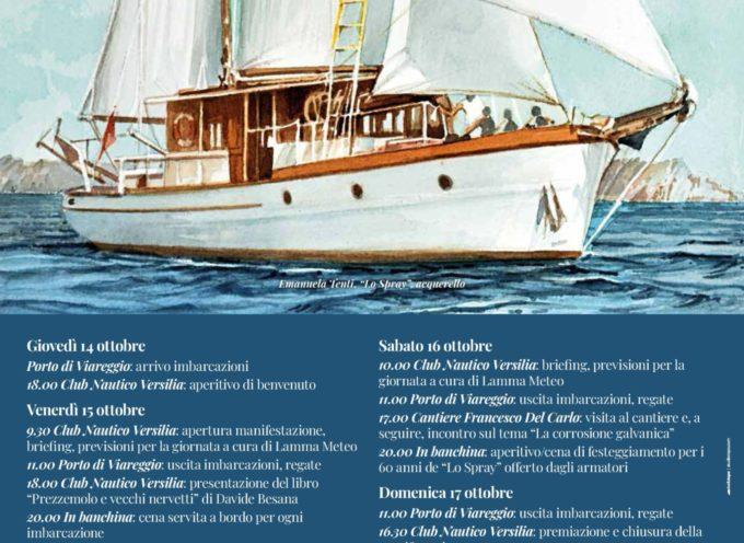 Un secolo di storia della vela al XVI Raduno Vele Storiche Viareggio. Attesa una flotta di 50 barche