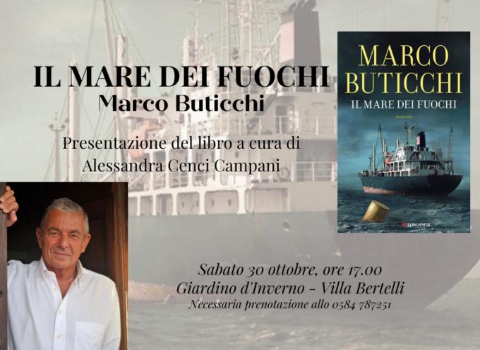 Il maestro dell'avventura Marco Buticchi torna a Villa Bertelli