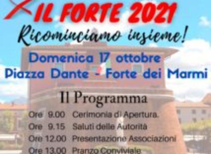"""""""ASSOCIAMO IL FORTE"""" FESTA DELLE ASSOCIAZIONI 2021,"""