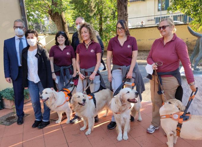 Scuola nazionale cani guida, open day per conoscere le attività di un'eccellenza toscana