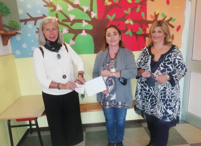 Continua la serie di visite nelle scuole per gli auguri di inizio anno – Guja Guidi e Fiorella Grossi a Collodi, Cardino e agli asili di piazza Anzilotti