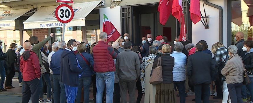 Pensionati Cgil, inaugurata la nuova sede di Capannori